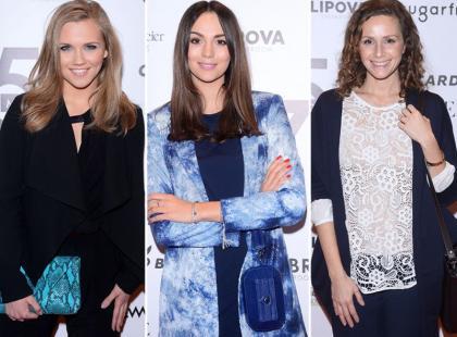 Krupińska, Kaczorowska Mrozowska i inne gwiazdy pojawiły się na otwarciu butiku