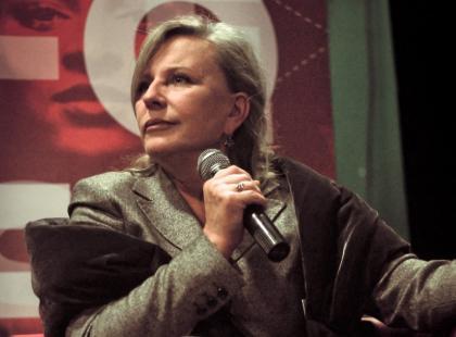 Krystyna Janda i Danuta Wałęsa na Tofifest