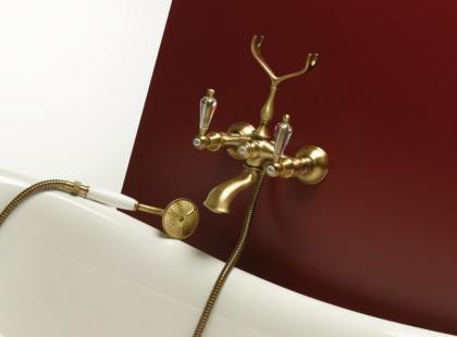 Kryształy Swarovskiego w łazience