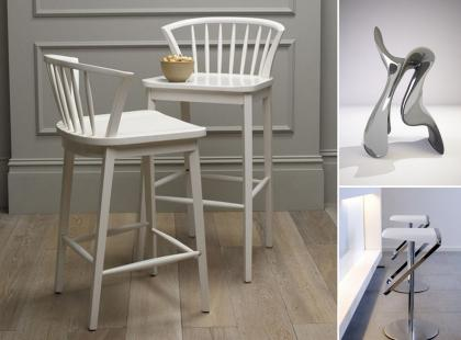 Krzesła barowe - kuchenna awangarda