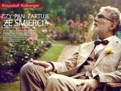 """Krzysztof Kolberger: """"Żyję na walizkach"""""""