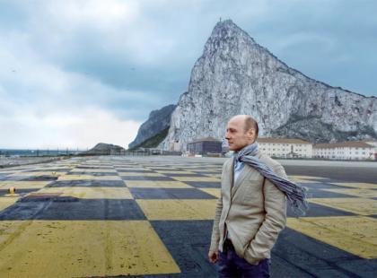 Krzysztof Pieczyński na Gibraltarze