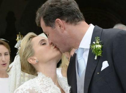 Książę Alexander von Isenburg i księżna Sarah wzięli ślub