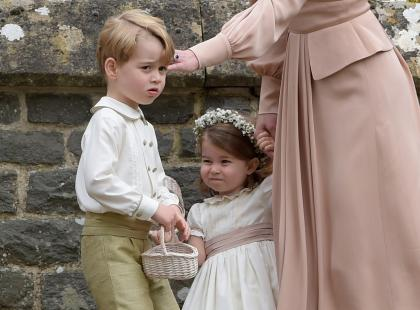Książę George i księżniczka Charlotte w ślubnym orszaku Harry'ego i Meghan! A co z księciem Louisem?