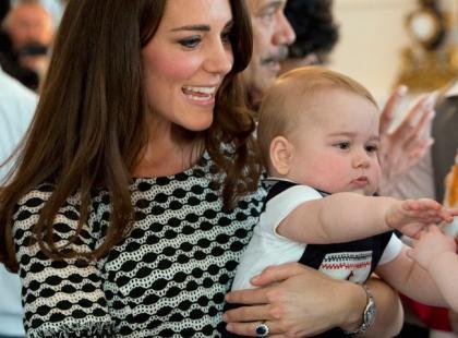 Książę George nie jest takim aniołkiem na jakiego wygląda