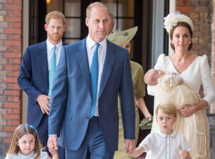 Książę Louis już ochrzczony! Dlaczego na uroczystości zabrakło królowej?