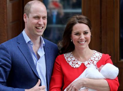 Książę Louis ma już rok! Opublikowano najnowsze zdjęcia syna Kate i Williama