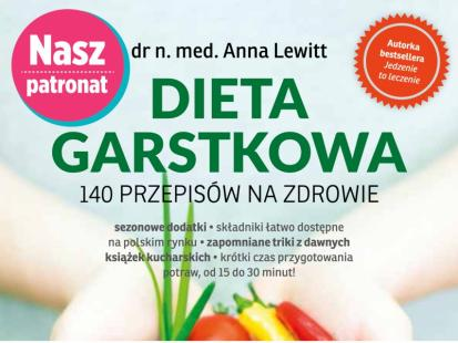 """Książka """"Dieta Garstkowa"""" pomoże w odchudzaniu!"""