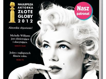 """Książka z płytą dvd """"Mój tydzień z Marilyn"""""""