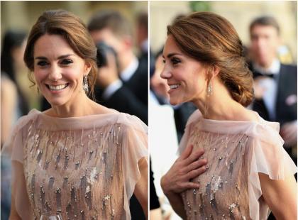 Księżna Kate jak zwykle wyglądała olśniewająco, ale...  jest niepokojąco chuda!
