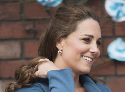Księżna Kate ma siwe włosy?