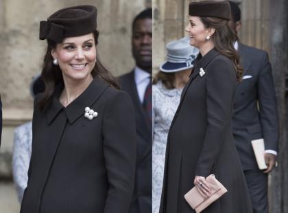 Księżna Kate na kilka tygodni przed porodem sama dźwiga zakupy! Te zdjęcia to autentyk?