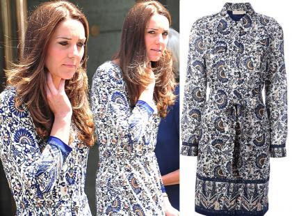 Księżna Kate nosi sukienkę z przeceny