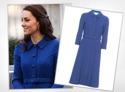 Księżna Kate w sukience w stylu lat 40. Znajdziesz taką w babcinej szafie?