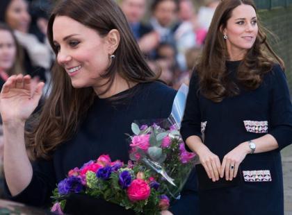 Księżna Kate z coraz większym brzuszkiem