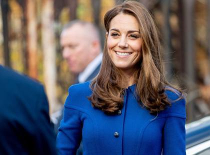 Księżna Kate zachwyciła w plisowanej spódnicy! Znalazłyśmy podobną w H&M