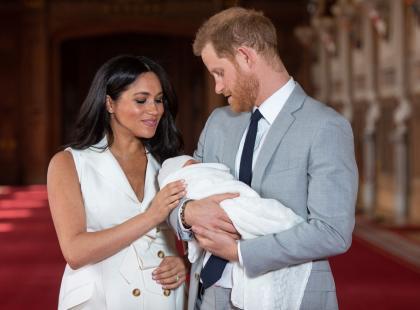 Księżna Meghan pokazała nowe zdjęcie Archiego! To wzruszający hołd dla księżnej Diany