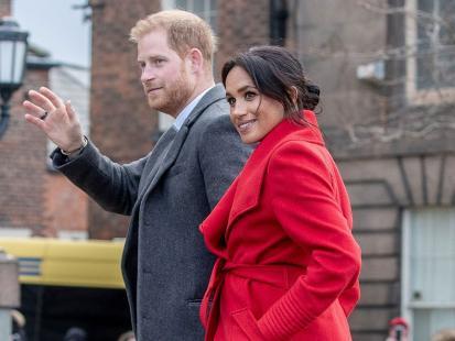 Księżna Meghan urządza pokój dla dziecka. Kolor ścian zdradza płeć royal baby?
