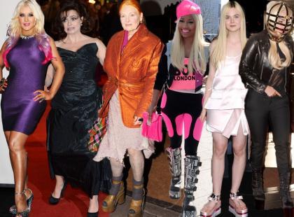 Kto ubierał się najgorzej w 2012 roku?