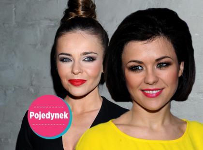 Kto wygląda lepiej w mocnym makijażu?