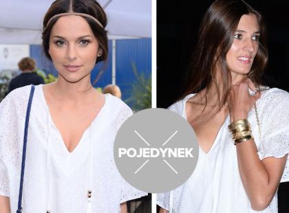 Która gwiazda lepiej stylizuje sukienkę za 450 złotych?