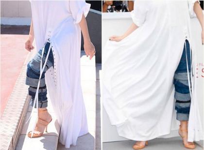 Która gwiazda założyła dżinsy zamiast sukni na czerwony dywan w Cannes?