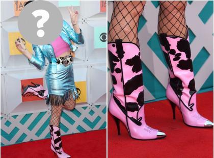 Która gwiazda założyła TAKIE botki na czerwony dywan?