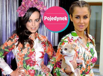 Która lepiej w sukience w kwiaty? [sonda]