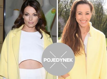 Która z gwiazd lepiej stylizuje płaszcz polskiej projektantki?