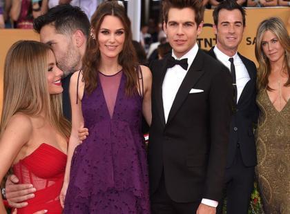 Które pary Hollywood królowały na SAG Awards?