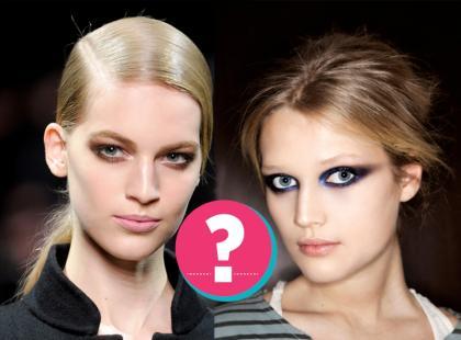 Który makijaż oczu jest ładniejszy?