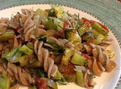 Kuchnia Anny Jurksztowicz: makaron z warzywami