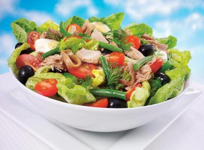 Kuchnia francuska: Salade niçoise alias Sałatka nicejska