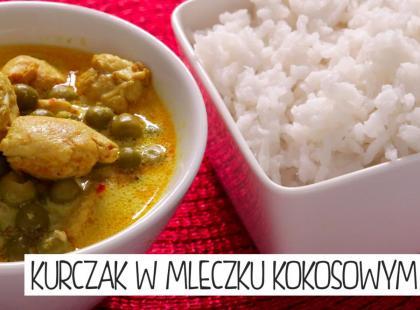 Kuchnia Gotujmy: kurczak w mleczku kokosowym