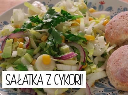Kuchnia Gotujmy: sałatka z cykorii