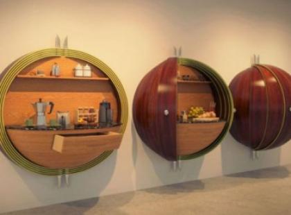 Kuchnia jak dzieło sztuki – Splinter Works Dime Kitchen