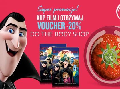 Kup film na DVD i zdobądź zniżkę na kosmetyki The Body Shop!