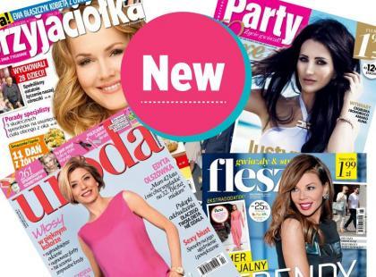 Kupuj magazyny i czasopisma przez Internet! Nowość!