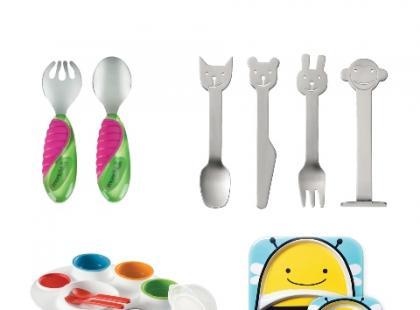 Kupujemy pierwsze sztućce i naczynia dla dziecka – galeria