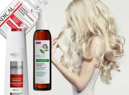 Kuracje przeciw wypadaniu włosów - przegląd