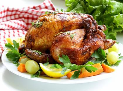 Kurczak z ryżowym farszem