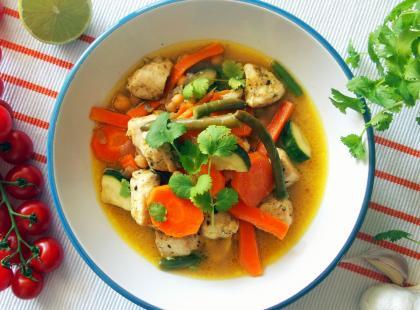 Kurczak z warzywami z azjatyckąnutką - Kasia gotuje z Polki.pl