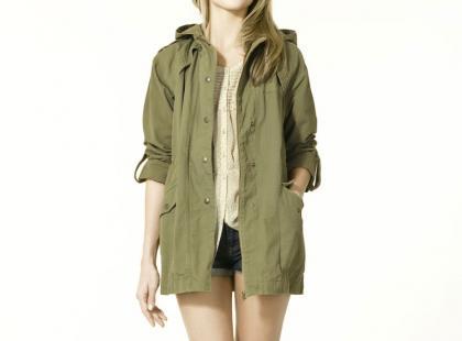 Kurtki na wiosnę 2011 - Zara TRF