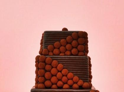 Kwadratowe torty weselne
