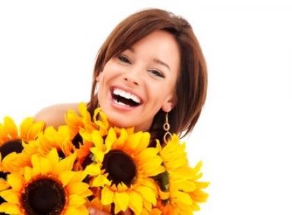 Kwiatek dla kobiety