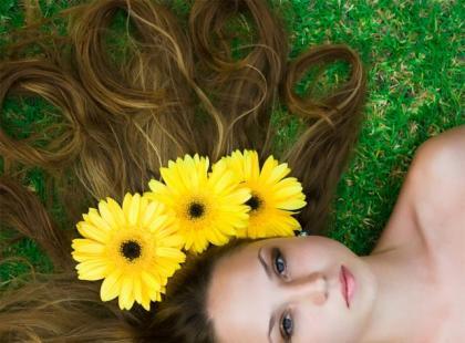 Kwiatowe pogotowie dla włosów