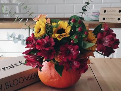 Kwiaty w dyni?! Ta jesienna dekoracja podbije twoje serce!