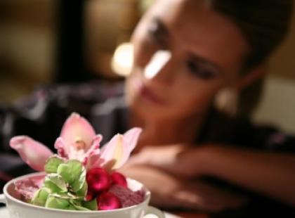 Kwiaty w modzie i wnętrzu