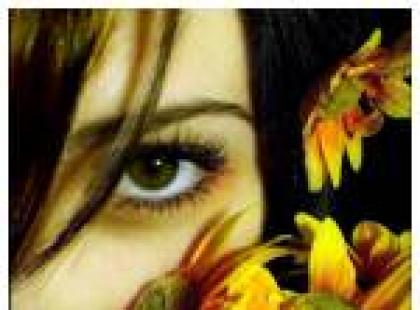 Kwiecisty charakter kobiety