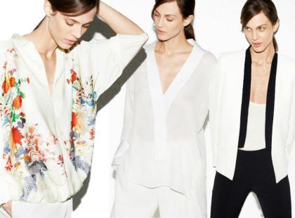 Kwietniowe stylizacje marki Zara